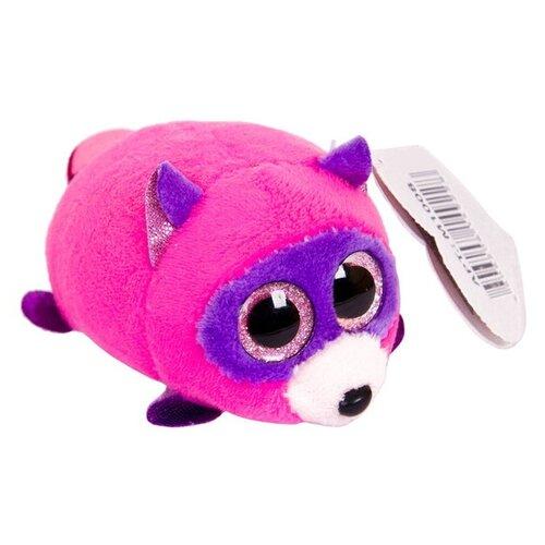 Мягкая игрушка ABtoys Енот пурпурный 3 см
