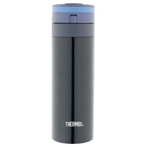 Термокружка Thermos JNS-350, 0.35 л черный/синий