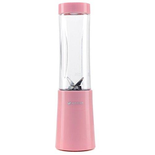 Стационарный блендер Kitfort КТ-1311-1, розовый