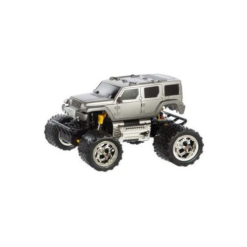 Купить Монстр-трак Пламенный мотор ПМ 030 (870263) 1:28 18 см серебристый, Радиоуправляемые игрушки