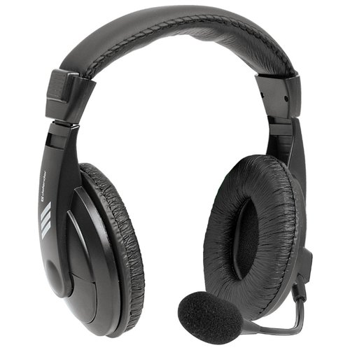 Компьютерная гарнитура Defender Gryphon HN-750 черный наушники defender hn 750 black