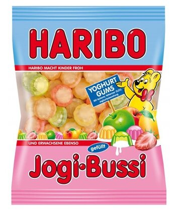 Мармелад Haribo Jogi-Bussi йогурт, ассорти 200 г