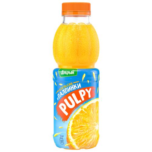 Напиток сокосодержащий Pulpy Апельсин, 0.45 л