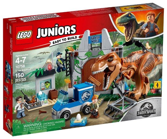 Конструктор LEGO Juniors 10758 Побег Ти-Рекса