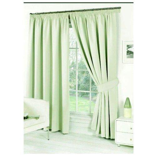 Комплект Стиль-Текстиль 107 на ленте 270 см зеленыйШторы<br>