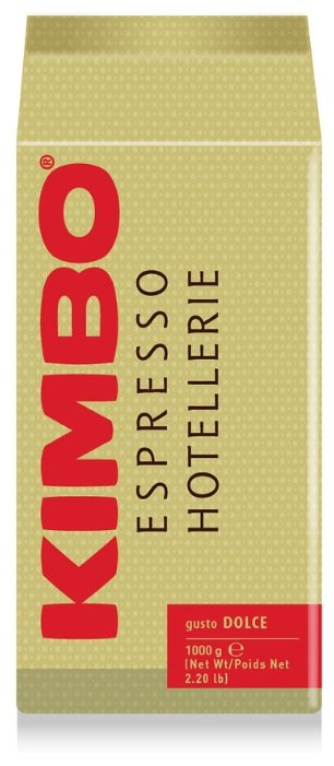 Кофе в зернах Kimbo Hotellerie Gusto Dolce