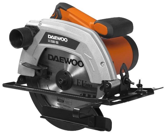 Дисковая пила Daewoo Power Products DAS1500-190