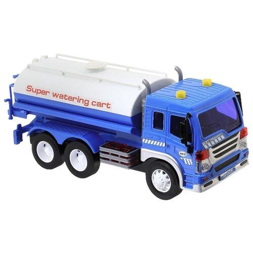 Автоцистерна Dave Toy Junior Trucker (33014) 1:16 28.5 см синий/белый