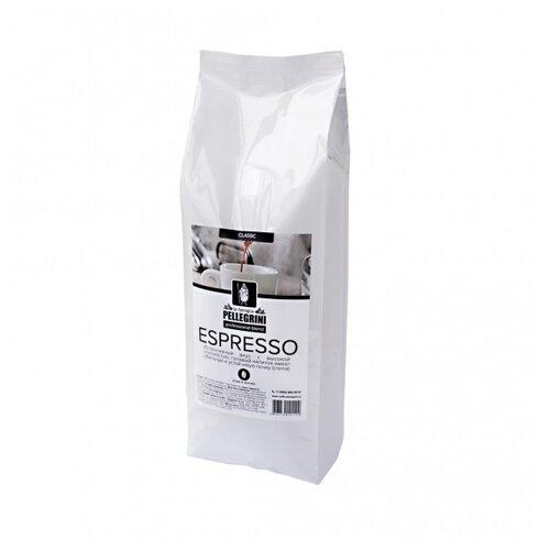 Кофе в зернах la famiglia Pellegrini ESPRESSO professional blend, смесь арабики и робусты, 1 кгКофе в зернах<br>