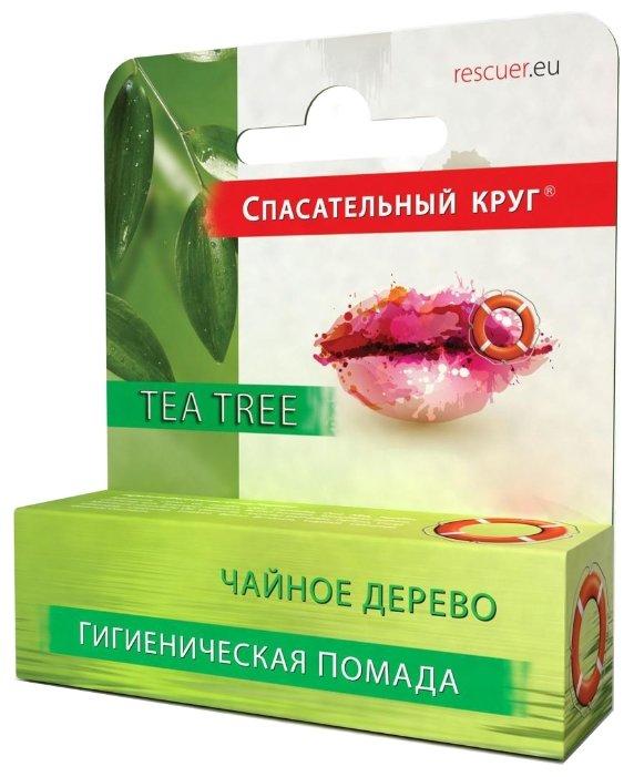 Спасательный Круг Гигиеническая губная помада Чайное дерево
