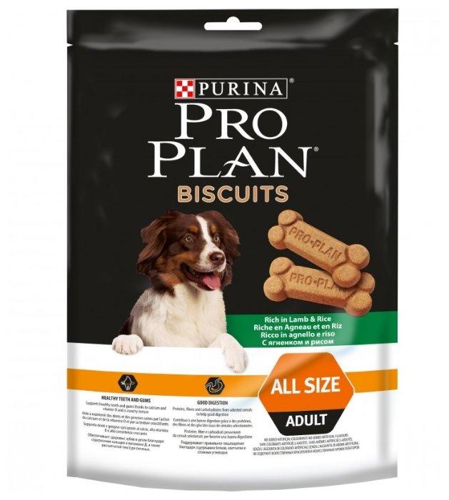 Лакомство для собак Pro Plan Biscuits с ягненком и рисом