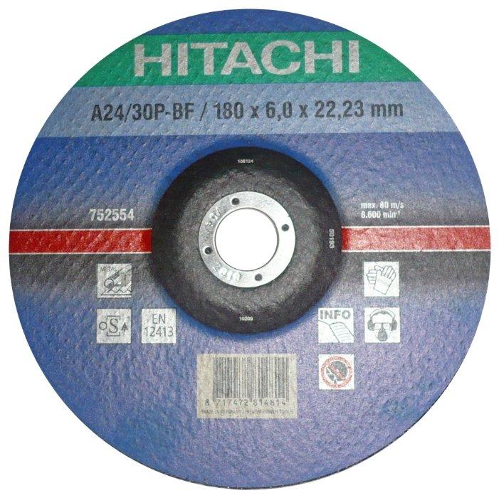 Шлифовальный абразивный диск Hitachi 752554