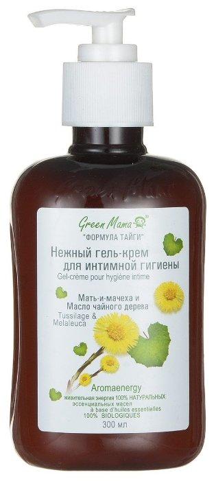 Green Mama Гель-крем для интимной гигиены Мать-и-мачеха и масло чайного дерева, 300 мл