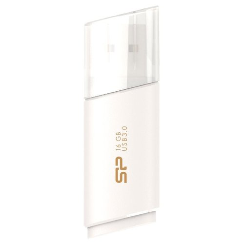Фото - Флешка Silicon Power Blaze B06 16GB, белый флешка silicon power blaze b05 16gb черный