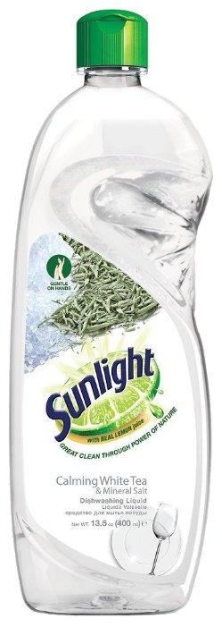 Sunlight Средство для мытья посуды Calming white tea & mineral salt