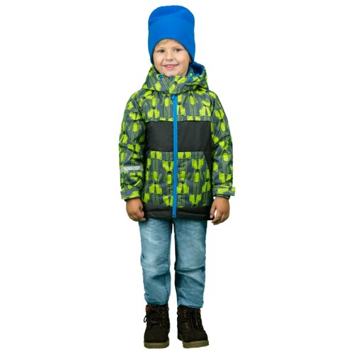 Куртка BOOM! by Orby 70339 размер 98-56-51, серый куртка для девочки boom цвет красный 70329 bog вар 2 размер 98 3 4 года
