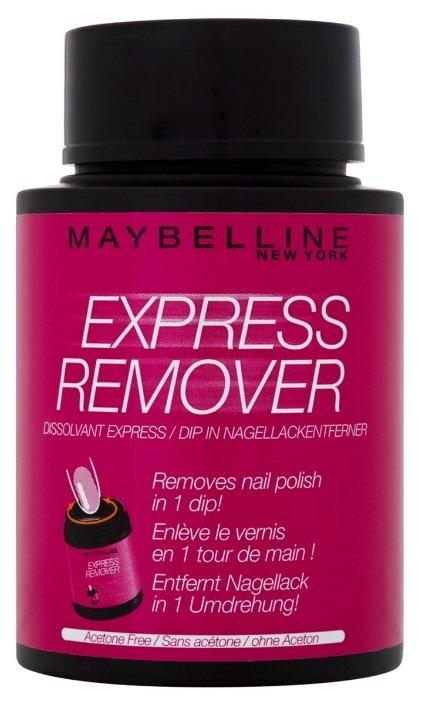 Maybelline Жидкость для снятия лака Express Remover с экстрактом миндаля