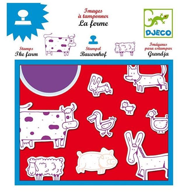 Набор штампов DJECO Ферма (08809)