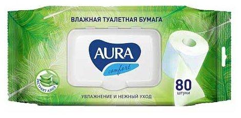 Aura Ultra Comfort Влажные салфетки для детей Алое+Витамины 15 шт 13398