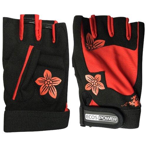 Перчатки ECOS Power 5106 черный/красный L фото