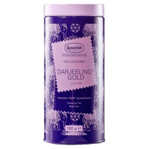 Чай черный Ronnefeldt Tea Couture Darjeeling Gold подарочный набор, 100 г