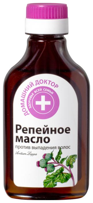 Домашний доктор Репейное масло против выпадения волос