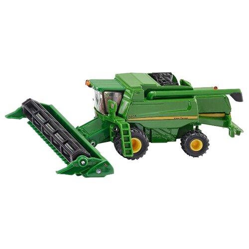 Купить Комбайн Siku John Deere 9680i (1876) 1:87 15.6 см зеленый, Машинки и техника
