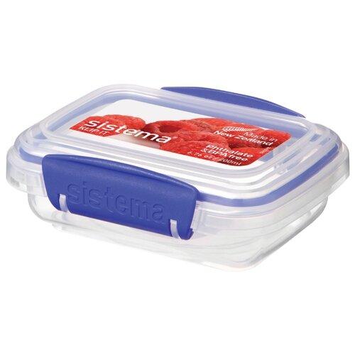 Sistema Контейнер KLIP IT Rectangular 1520 прозрачный контейнер для капусты klip it 3 5 л 22х15 см синий 1490 sistema