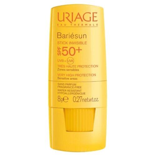 Uriage стик Bariesun невидимый для чувствительных зон лица и тела, SPF 50, 8 г, 1 шт