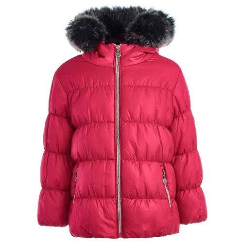 Купить Куртка Button Blue 218BBGC4102 размер 158, розовый, Куртки и пуховики
