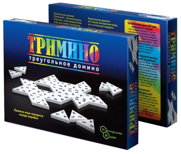 Настольная игра Нескучные игры Тримино — купить по выгодной цене на Яндекс.Маркете