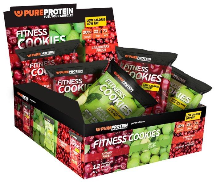 Pure Protein печенье Fitness 12 шт.