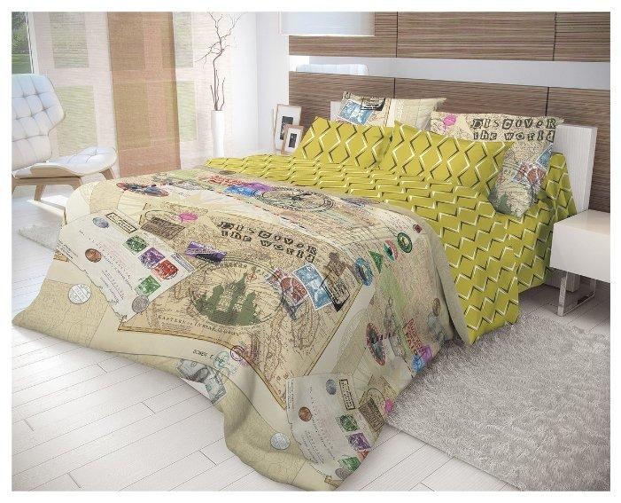 Постельное белье 2-спальное Волшебная ночь Travel 716321 ранфорс