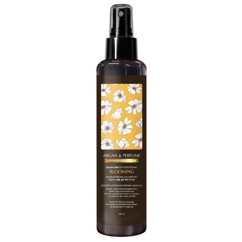 Pedison Institut beaute Argan & Perfume Silk Hair Mist Blooming Парфюмированный спрей для волос с аргановым маслом, 140 млМаски и сыворотки<br>