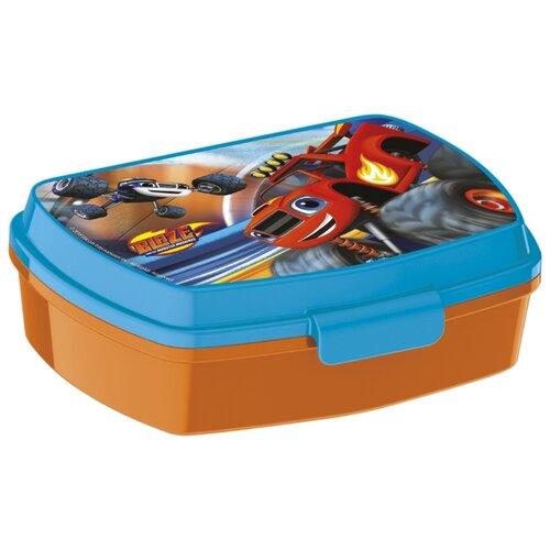 Stor Ланч-бокс Вспыш и чудо-машинки голубой/оранжевый машинка blaze вспыш чудо машинка цвет оранжевый
