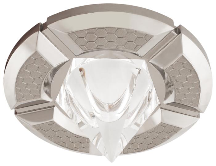 Встраиваемый светильник De Fran 16F163 EQ, перламутровый никель / хром