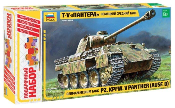 Сборная модель ZVEZDA Немецкий средний танк Т-V