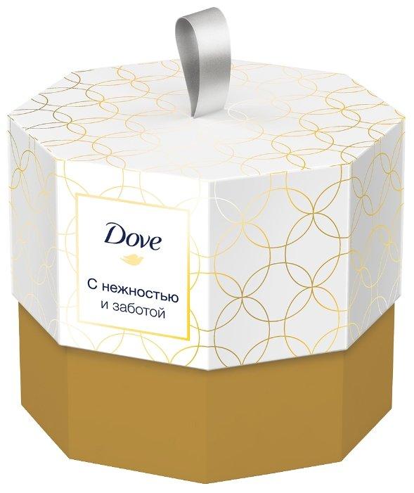 Набор Dove С нежностью и заботой: антиперспирант-ролик Original, туалетное мыло Beauty cream bar