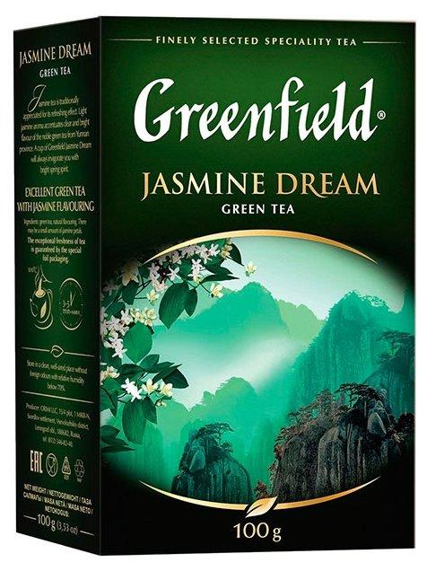 Чай зеленый Greenfield Jasmine Dream — цены на Яндекс.Маркете