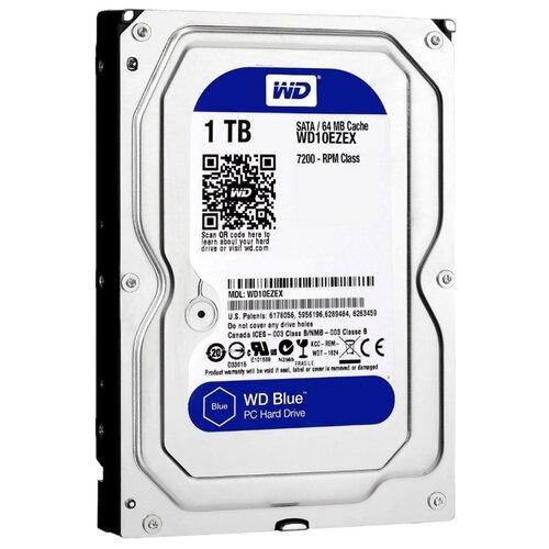 Жесткий диск Western Digital WD Blue 1 TB (WD10EZEX)Внутренние жесткие диски<br>