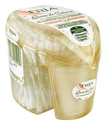 Ватные палочки FRIA Gocce Di Cotone с очищающим лосьоном