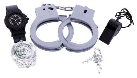 Игровой набор Little Zu Полицейский 90037C