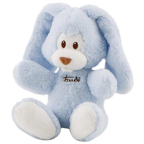 Мягкая игрушка Trudi Заяц Вирджилио голубой 26 см мягкая игрушка trudi заяц белый 28 см