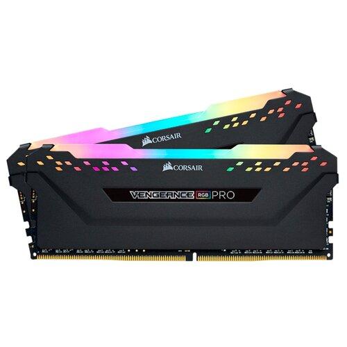 Фото - Оперативная память Corsair Vengeance RGB PRO DDR4 4000 (PC 32000) DIMM 288 pin, 8 GB 2 шт. 1.35 В, CL 19, CMW16GX4M2K4000C19 pro cl 200ar