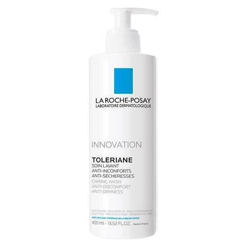 La Roche-Posay гель-уход очищающий для умывания Toleriane, 400 мл гель для ухода за кожей la roche posay toleriane caring wash