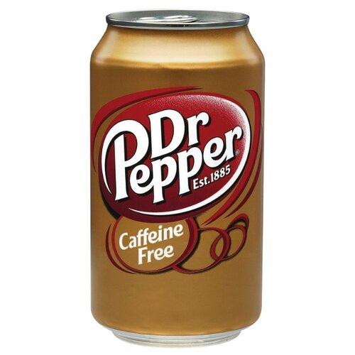Газированный напиток Dr Pepper caffeine free, США, 0.355 лЛимонады и газированные напитки<br>