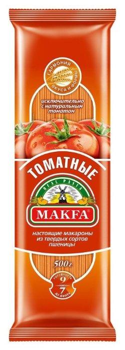 Макфа Макароны томатные, 500 г