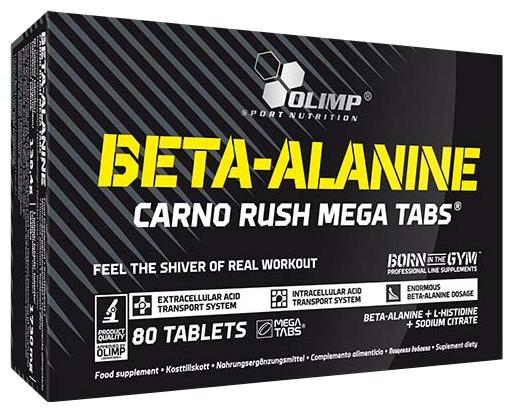 Аминокислотный комплекс Olimp Beta-Alanine Carno Rush Mega (80 таблеток)