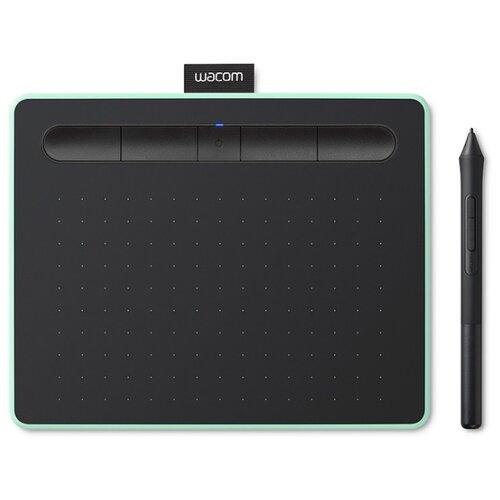 Купить со скидкой Графический планшет WACOM Intuos M Bluetooth (CTL-6100WLK-N/CTL-6100WLE-N) фисташковый