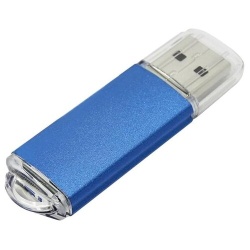 Фото - Флешка SmartBuy V-Cut USB 2.0 16GB синий флешка usb 16gb qumo cosmos usb2 0 хром qm16gud cos
